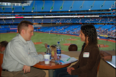 Speed Dating at the Blue Jays game