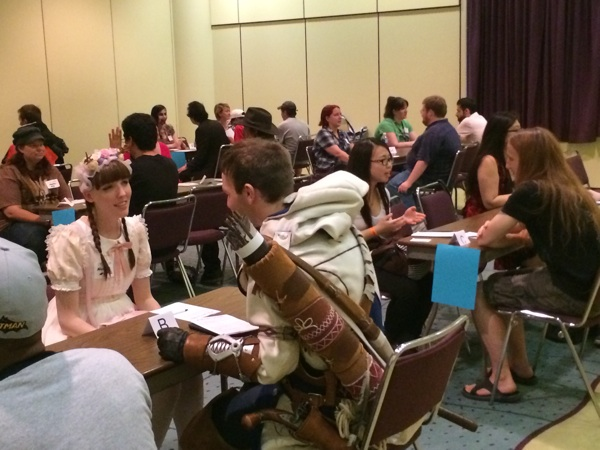 speed dating fan expo no success at online dating