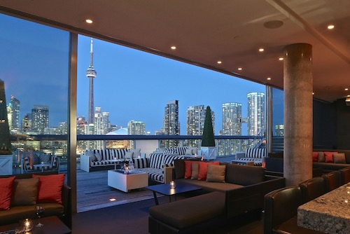 Rooftop Lounge - Thompson Hotel